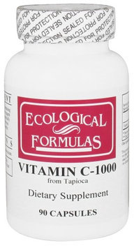 Ecological Formulas - Vitamin C-1000 from Tapioca 1000 mg. - 90 Capsules Formerly Cardiovascular Research
