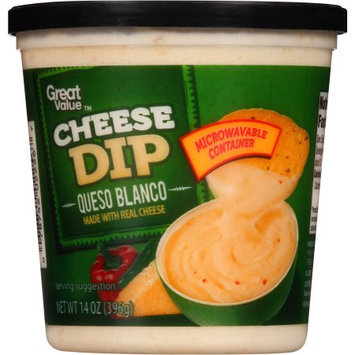 Great Value Queso Blanco Cheese Dip, 14 oz