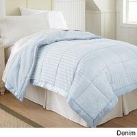 Amrapur Overseas, Inc. Down Alternative Blanket with Fleece Reverse