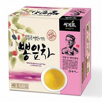 Ssanggye Tea Wild Mulberry Leaf Tea 1g X 40 Tea Bags