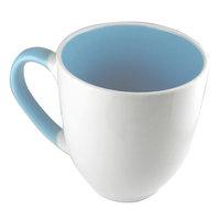 Mad Stylz Stoneware Coffee Mug 16 oz - Baby Blue