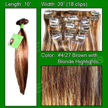 #4/27 Brown w/ Blonde Highlights - 10 inch: Home & Kitchen