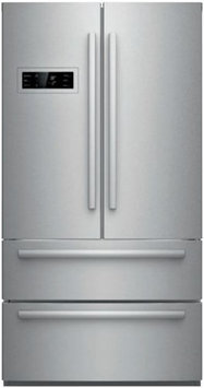 Bosch B21CL80SNS 800 20.8 Cu. Ft. Stainless Steel Counter Depth Bottom Freezer Refrigerator