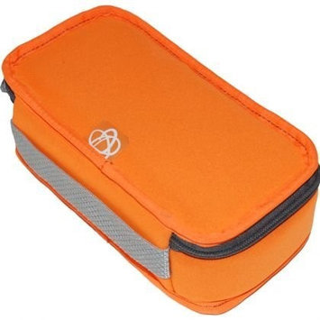 Ecocozie E1R01S03 Reusable Rectangle Food Container - Sunkissed Orange