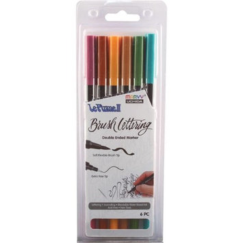 Uchida 1122BL-6M Natural -Le Plume II Markers (Pack of 6)