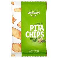 Wellaby's Gluten Free Italian Herbs Pita Chips 130g