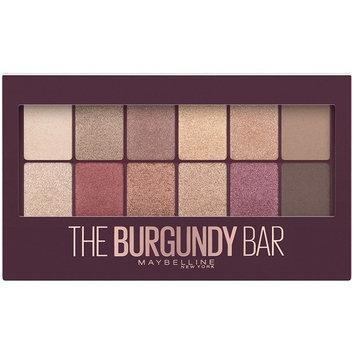Maybelline New York Eyeshadow Palette Makeup, The Burgundy Bar, 0.33 Ounce