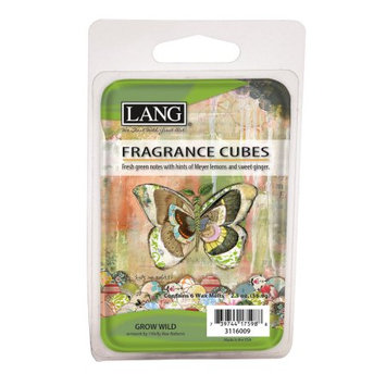 The Lang Companies LANG GROW WILD 2.5 OZ FRAGRANCE CUBES