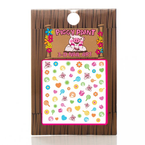 Piggy Paint 230347 3-D Blossom Nail Care Art Accessories