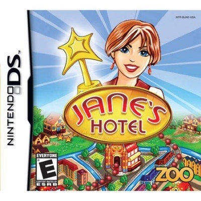 Zoo Games, Inc Jane's Hotel Nintendo DS Game ZOO