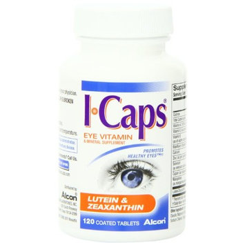 5 Pack - ICaps Lutein and Zeaxanthin Formula Coated Tablets 120 Each