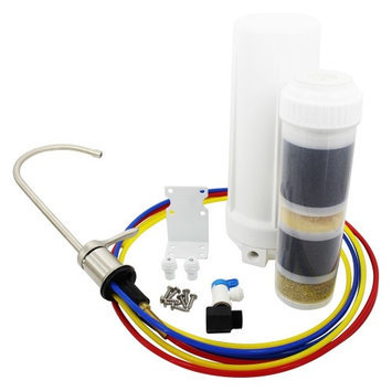New Wave Enviro 796515300086 10 Stage Under Sink Water Filtration System
