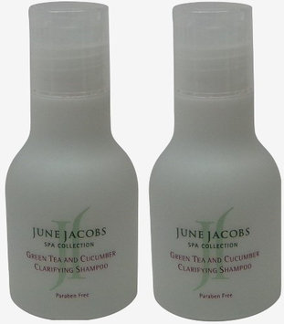 June Jacobs Green Tea Clarifying Shampoo Lot of 1.7oz. (Pack of 2)