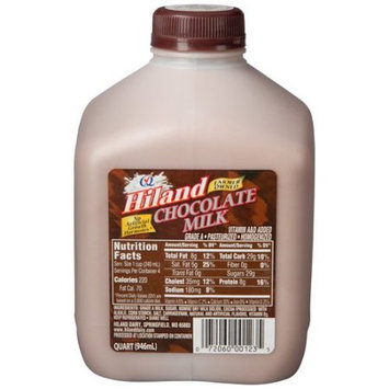 Hiland Chocolate Milk, 32 fl oz