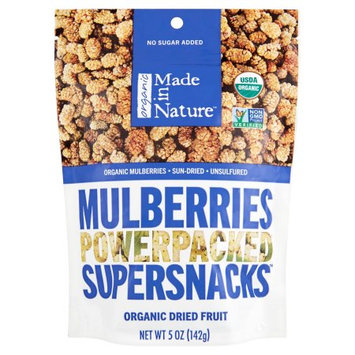 Made In Nature Llc Made In Nature, Mulberries Org, 5 Oz (Pack Of 6)