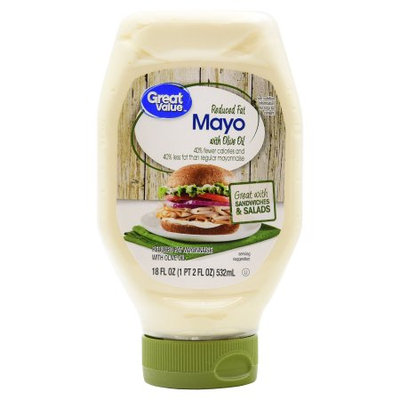 Great Value Reduced Fat Mayo with Olive Oil