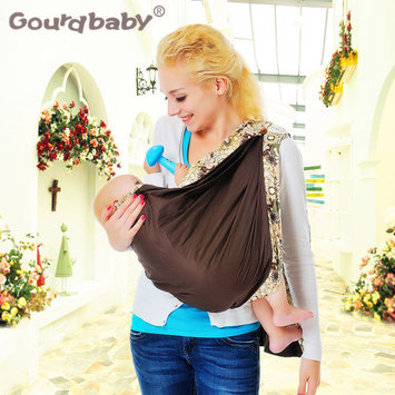 Soft Baby Wrap Cotton Baby Ring Sling Carrier Nursing Cover Baby Holder For Newborns Infants Toddlers