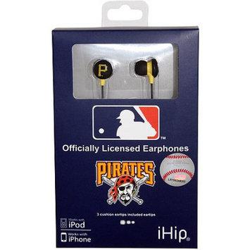 Ihip Mlf10169pit Pittsburgh Pirates Earbuds Mlb Printed Logo