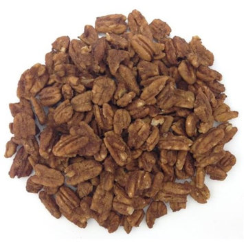 Organic Living Superfoods cinn-pecan-R Raw Sprouted Cinnamon Pecans - Pack of 6