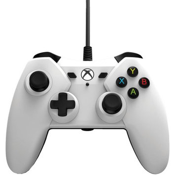 2 Pack PowerA Wired Controller For Xbox One - White (1428130-01)