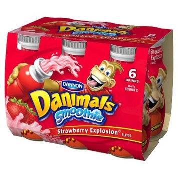 Dannon Danimals Strawberry Yogurt 3.1 oz 6 pk