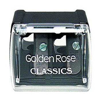 Golden Rose Dual Pencil Sharpener, 3 pack