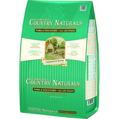 Grandma Mae S Country Nat COUNTRY NATURALS FARMHOUSE BLEND DOG FOOD 26 POUND