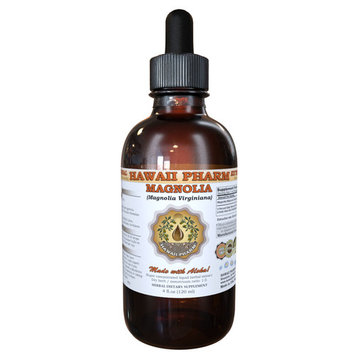 Magnolia (Magnolia Virginiana) Tincture, Organic Dried Bark Liquid Extract, Sweetbay, Herbal Supplement 15x4 oz