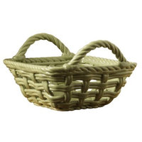 Tabletops Gallery Woven Square Bread Basket