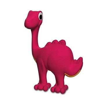 NUK Soothasaurus Rubber Dinosaur Sensory Development Toy, Pink