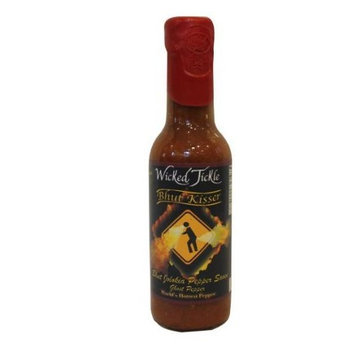 Ghost Pepper Hot Sauce Wicked Tickle Bhut Kisser Very Hot Award Winning Sauce