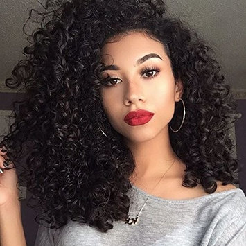 Donmily 10A Brazilian Virgin Curly Hair 3 Bundles Weave 100% Unprocessed Brazilian Sexy Human Hair Extensions Natural Color 12 14 16inch
