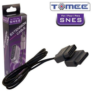 Tomee Extension Cable For Nintendo SNES - 6 Foot Long