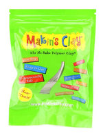 Makin's No Bake Polymer Clay 60 g, olive [pack of 6]