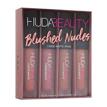 HUDA BEAUTY Liquid Matte Minis Blushed Nudes Edition - Wifey, Venus, Bombshell, Muse 4 x 0.064 oz