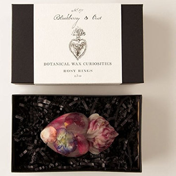 Rosy Rings Botanical Wax Curiosities - Blackberry and Oud Sacred Heart