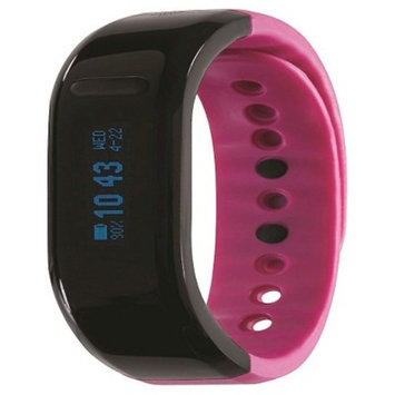 Unisex Thrive Fitness Tracker - Black/Pink