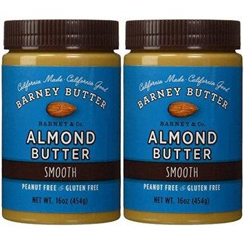 Barney Butter Smooth Almond Butter, 16-Ounce Jars