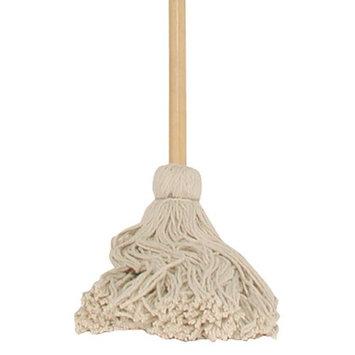 Chickasaw & Little Rock Broom Works 00306 Cotton Heavy Duty Janitor Wet Mop, 16oz
