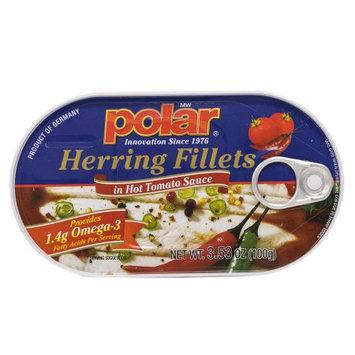 MW Polar Herring in Hot Tomato Sauce 3.53 oz.
