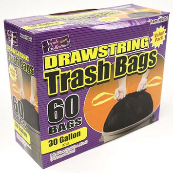 Nicole Home Collection 02024 30 Gallon DrawStorageing Trash Bags - 360 Per Case