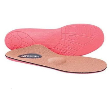 AETREX LYNCO SPORT L405 WOMEN ORTHODIC INSOLES (9 M US WOMEN, RED/BROWN)
