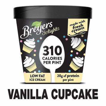 Breyers Delights Ice Cream, Vanilla Cupcake 16 oz