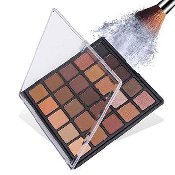 25 Color Shimmer Eyeshadow Powder ,YOYORI Charming Loose Sparkly Pearlescent Sparkly Professional Vegan Nudes Warm Natural Bronze cSmoky Eye Shadows Palette