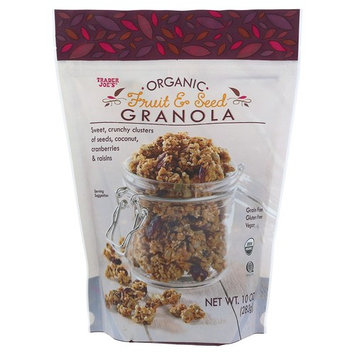 Trader Joe's Organic Fruit and Seed Granola Grain Free Gluten Free Vegan 10OZ (283g)