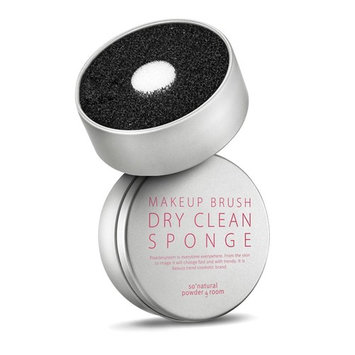 [So natural] Makeup Brush Dry Clean Sponge - No Need to Wash 5 sec. Cleaner: Beauty