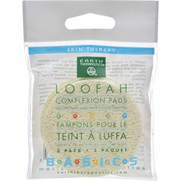 Loofah Complexion Pads (3 Pads) by Earth Therapeutics