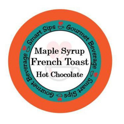 Smart Sips Coffee Maple Syrup French Toast, 72 Count, Compatible With All Keurig K-cup Brewers