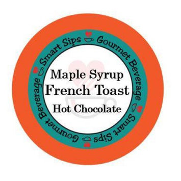 Smart Sips Coffee Maple Syrup French Toast, 48 Count, Compatible With All Keurig K-cup Brewers