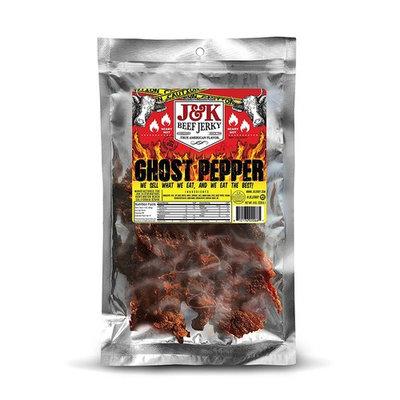 J&K Beef Jerky - Ghost Pepper Flavor 8oz